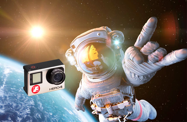 PIXAERO Lenses fly into space for scientific research Macro Shooting with GoPro